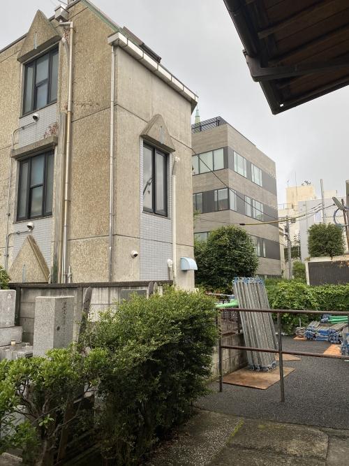 東京都港区青山 外壁リフォーム