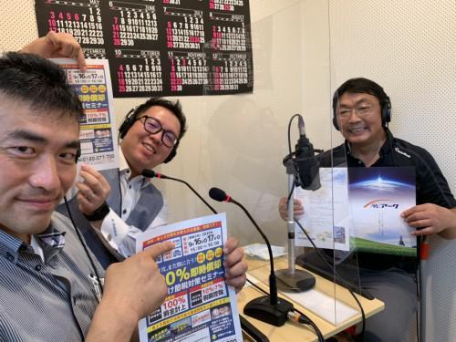 9/6日20:30分放送 シンセンラジオステーション収録!