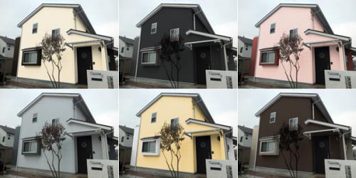 横浜市で外壁の色選びはシミュレーション対応のマルセイテックへ