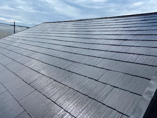 狭山市で屋根塗装工事を施工しました。