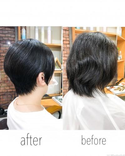 代官山美容室 髪質改善 クセ毛お悩み 憧れのショートヘア♪♪