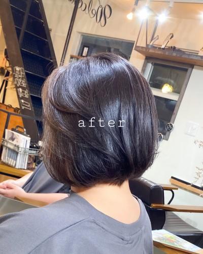 代官山 美容室 髪質改善 トリートメント カット