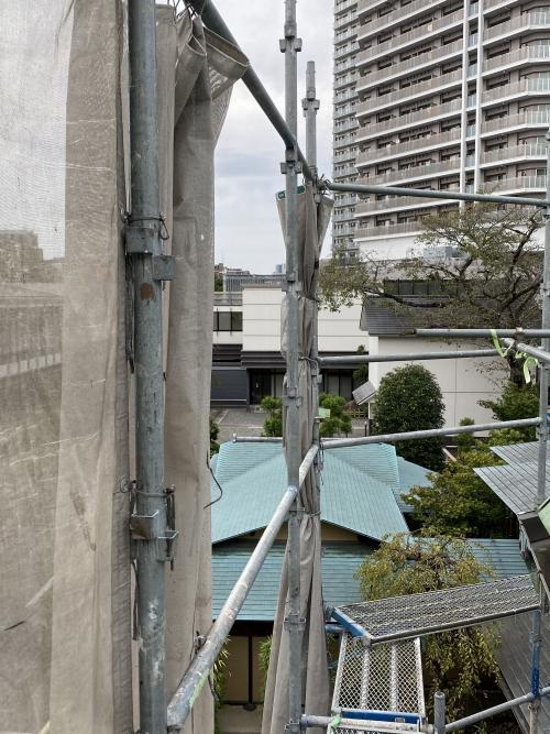 東京都港区表参道 外壁リフォーム工事