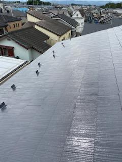 鶴ケ島市で屋根の遮熱塗装工事が完了しました