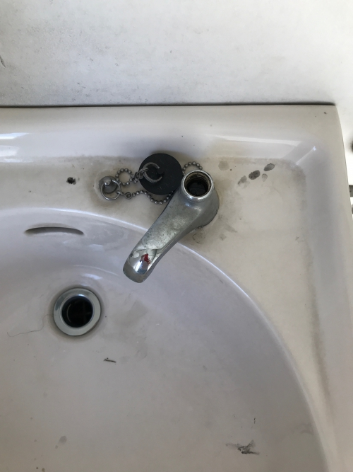 川口市にて蛇口修理実施。