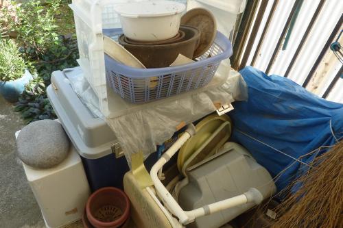 ガーデニング用品や物置の片付け|植木鉢|プランター|処分|