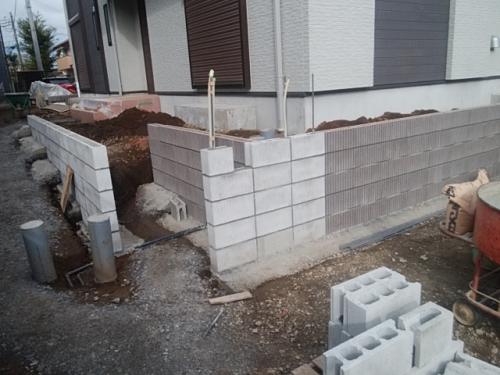 川崎市麻生区で、外構工事。