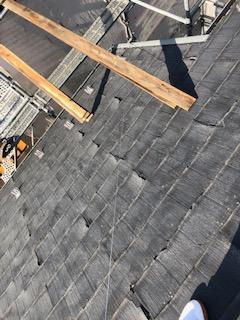 屋根コロニアル・パミールの改修工事を施工致しました