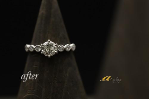佐倉市からご来店のお客様婚約指輪のご依頼ありがとうございます