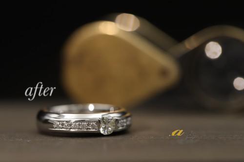 形見の指輪をリフォーム美浜区からご来店