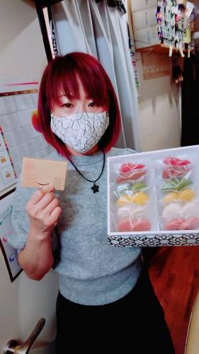 カラーの実験♪スタッフの誕生日♪