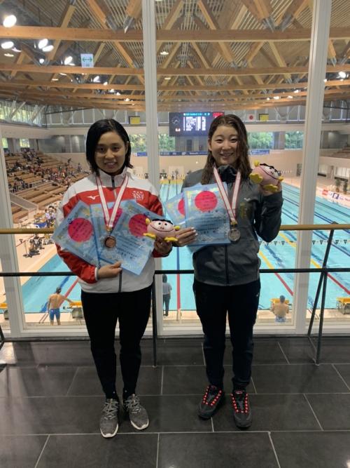 社会人選手権水泳競技大会2日目