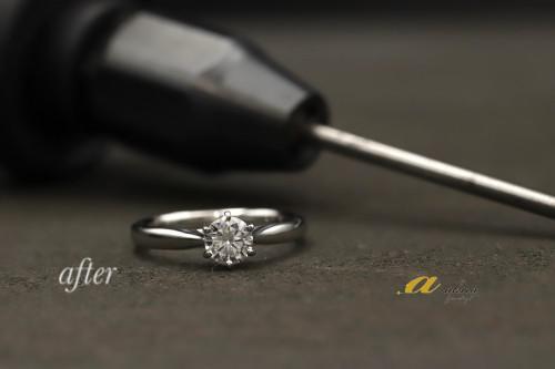 譲り受けた婚約指輪のリフォーム練馬区からご来店下さいました