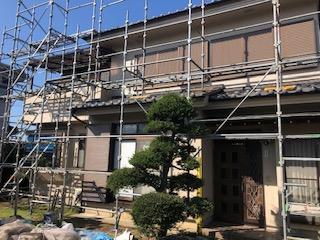 川越市で塗装工事完了前の点検をしてきました
