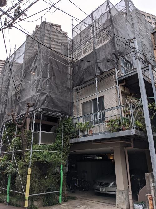 東京都目黒区某所塗り替え工事