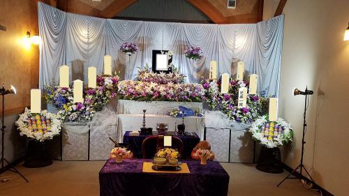 立川市 無門庭園 葬儀式場