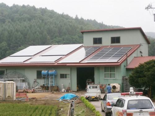 自家消費型太陽光発電で遮熱対策できます!