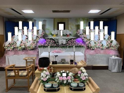 南多摩斎場にて家族葬