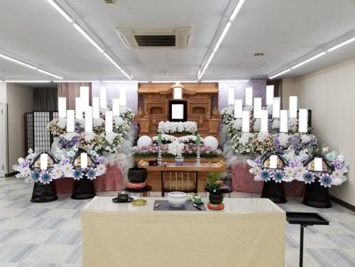 茅ヶ崎家族葬、1日葬儀 お通夜無し告別式のみで行います