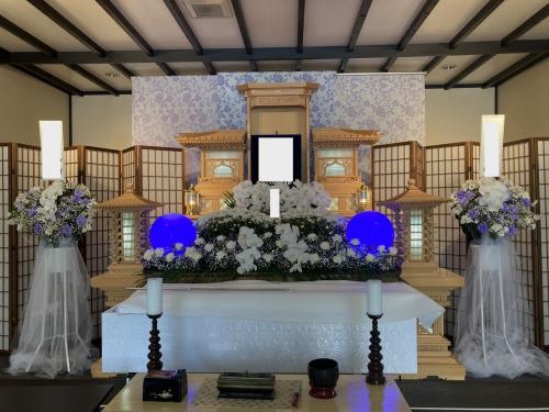 秦野1日葬儀 学会の方のお葬式でした。