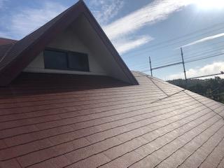 東松山市で屋根の張り替え工事が完了しました