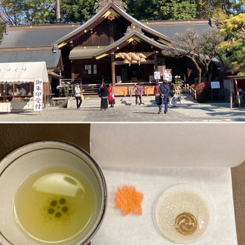 今日から12月です。朝一寒川神社と出雲大社でお参りです。