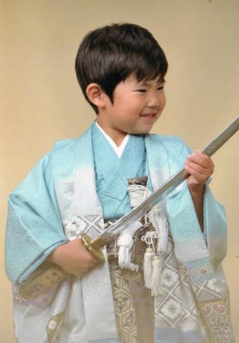 七五三:5歳:楽しかった!あっと言う間!袴がうれしい!