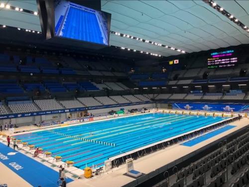 第96回日本選手権水泳競技大会 競泳競技 前日