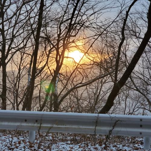 朝陽が綺麗です