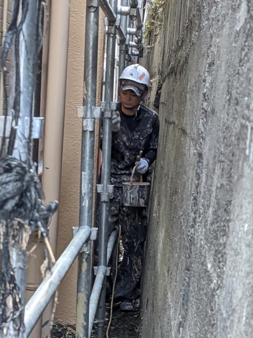 東京都目黒区某所テラス塗り替え