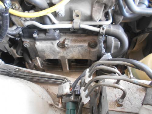 スバル レガシィーGT BH5スパークプラグ取替慣れです。