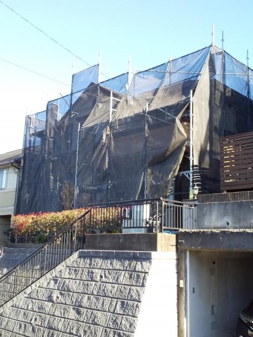 青葉区大場町K様邸屋根・外壁塗り替え工事