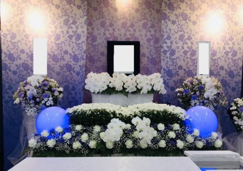 秦野葬祭ホールで無宗教での1日お葬儀です。