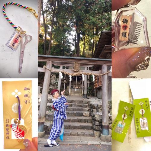 髪の毛の神様?!京都嵐山 御髪神社