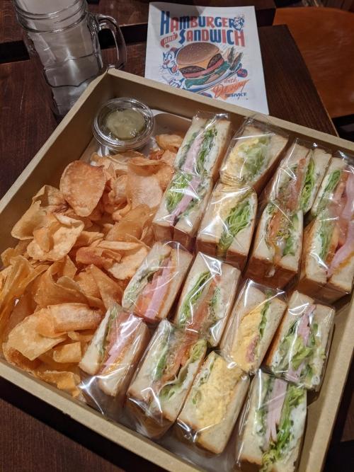 サンドイッチプレートの個包装について