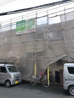 鶴ヶ島市で高圧洗浄工事を施工してきました