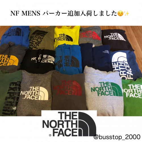 MENS☆North Faceパーカー追加入荷しました!