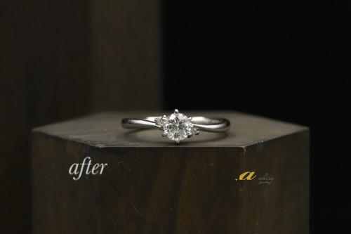 佐倉市から婚約指輪のご注文で御来店下さいました