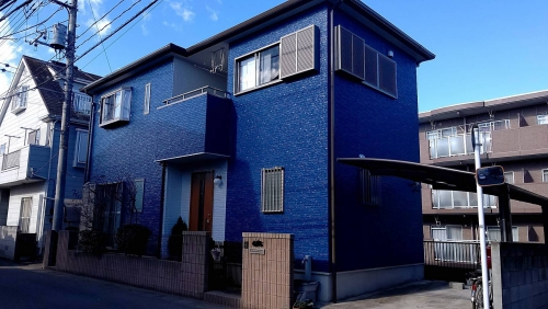 鶴ヶ島市で外壁塗装工事が完了致しました