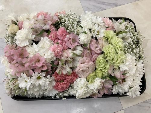 茅ヶ崎市の方の家族葬お別れ出棺でした