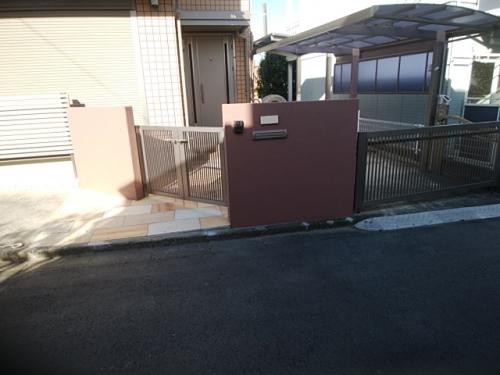 戸塚区で外構工事。