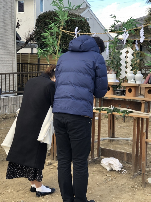 高崎市で地鎮祭
