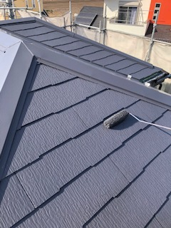 鶴ヶ島市で屋根塗装工事を施工してきました