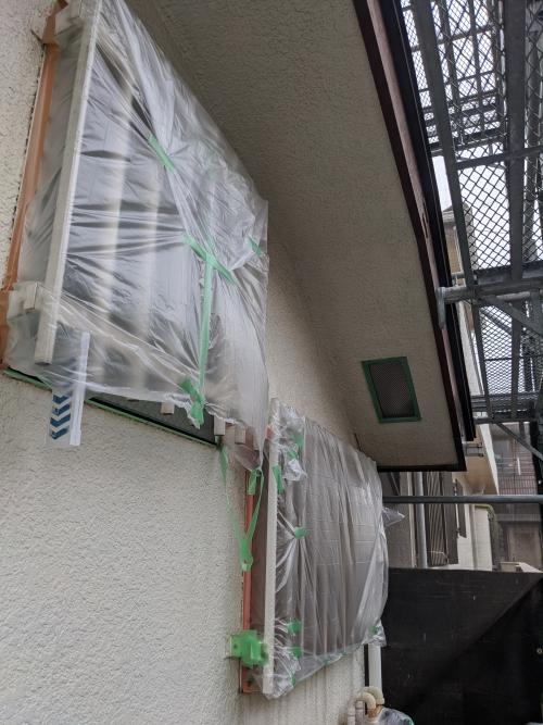 三鷹市某所塗り替え工事