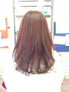 縮毛矯正しても簡単カールスタイル!