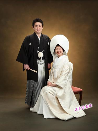 披露宴の代わりに贅沢和装結婚写真はいかが!