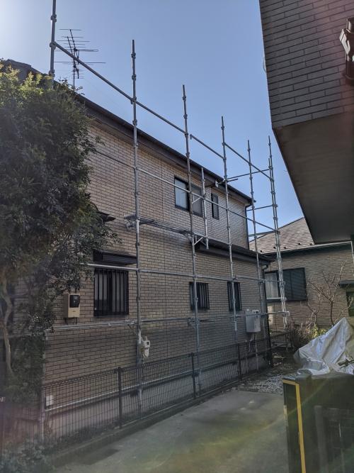 神奈川県横浜市港北区某所戸建ての外壁と屋根の塗り替え工事