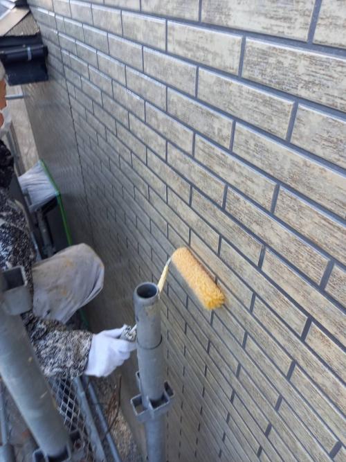 神奈川県横手市港北区某所戸建ての外壁と屋根の塗り替え工事