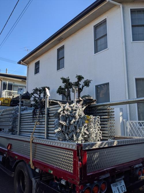 東京都調布市某所戸建て塗り替え工事