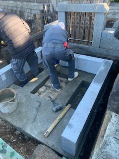 久保山墓地改修工事